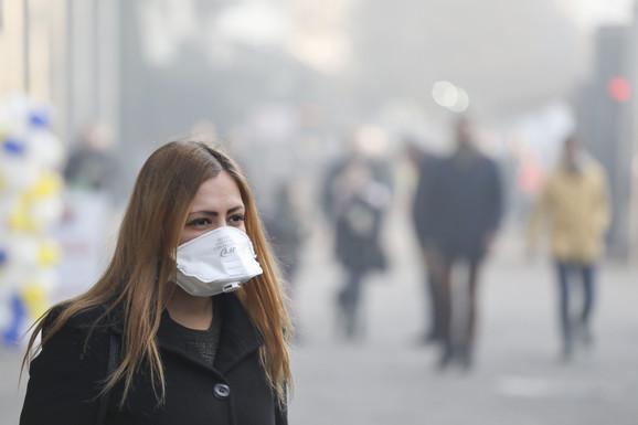 Zagađenje vazduha u Srbiji ukazuje na to da propisi Unije koji se odnose na kvalitet vazduha nisu usvojeni u našoj zemlji