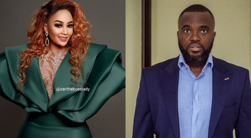 Ghanaian actor confesses love for Zari as she turns 40 in romantic letter