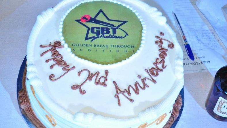 GBT March Edition Happy 2nd Anniversary Cake