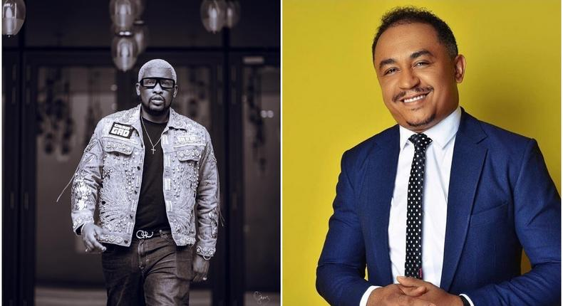 On-Air personalities Dotun and Daddy Freeze [Instagram/Dotun]