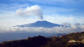 10 osób rannych w wyniku eksplozji jednego z kraterów wulkanu Etna