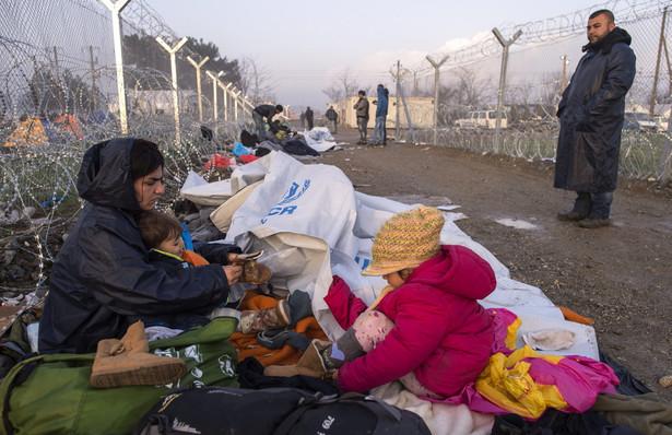 Imgranci na granicy grecko-macedońskiej