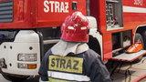 Pożar na gdańskim Przymorzu. Trzy osoby ranne