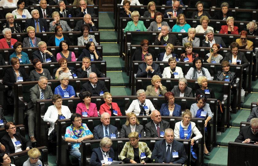 Premier Ewa Kopacz na inauguracji Parlamentu Seniorów