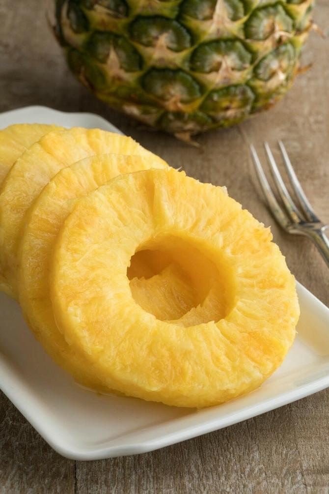 Ananas, ukusan, a zdrav