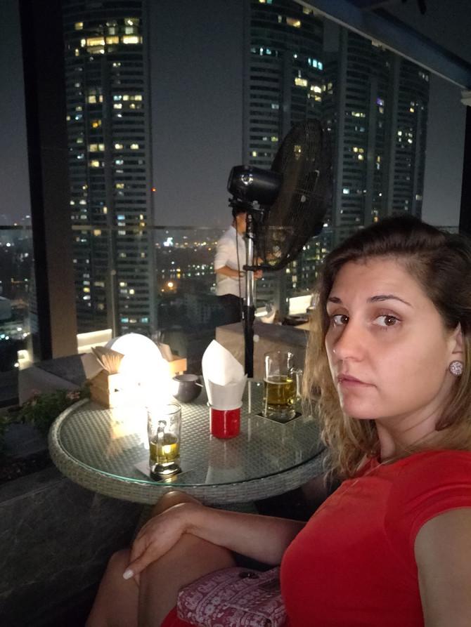 Pogled sa vrha zgrade