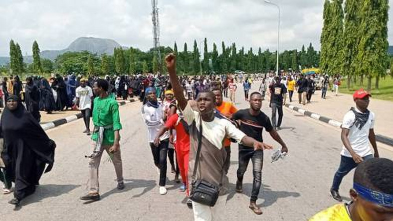 Police arrest 40 Shiite members over violent protest in Abuja  [Sahara Reporters]