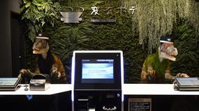 """Japoński hotel """"zatrudnił"""" dinozaury do pracy na recepcji"""