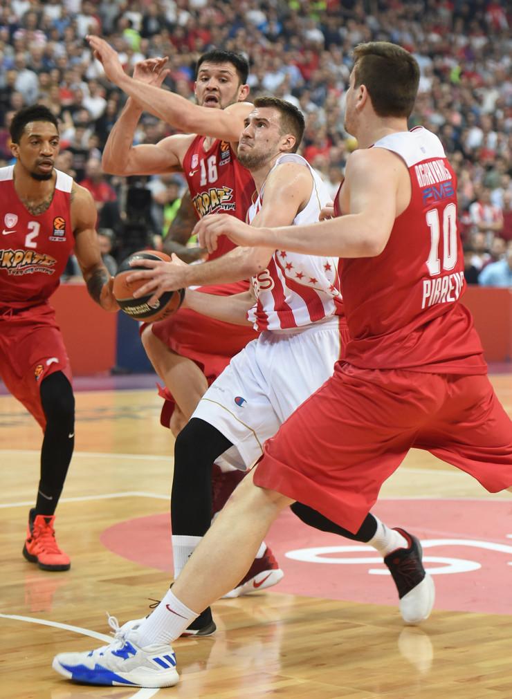 KK Crvena zvezda, KK Olimpijakos