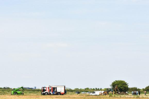 Pilot Vladimir Bulat nastradao je na licu mesta