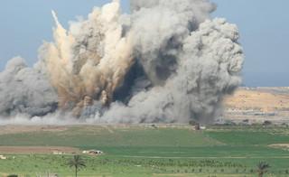 Siedem rakiet wystrzelono ze Strefy Gazy