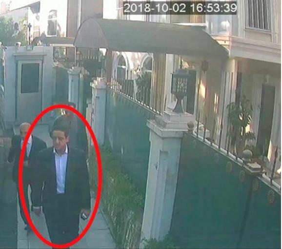 Maher Abdulaziz Mutrib kod saudijskog konzulata