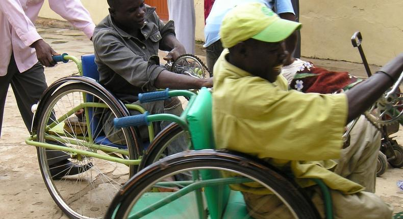 Nigeria is home to over 25 million disabled people with more than 3.5million of them having difficult challenges of moving around (venturesafrica)