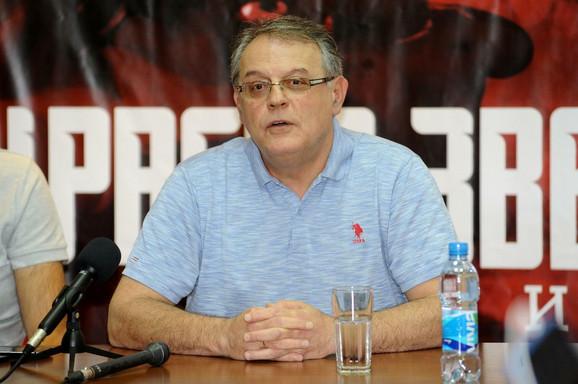 Nebojša Čović, predsednik KK Crvena zvezda