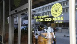 The market breadth closed negative with 20 losers, against 18 gainers [Reuters/Akintunde Akinleye]
