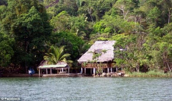 Kuća u Belizeu u kojoj je živeo Mekefi