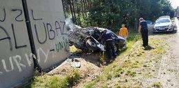 Tragiczny wypadek. Kierowca zmarł na oczach świadka