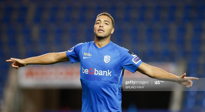 Cyriel Dessers scored as Gent beat Eupen 4-0 (Getty Images)