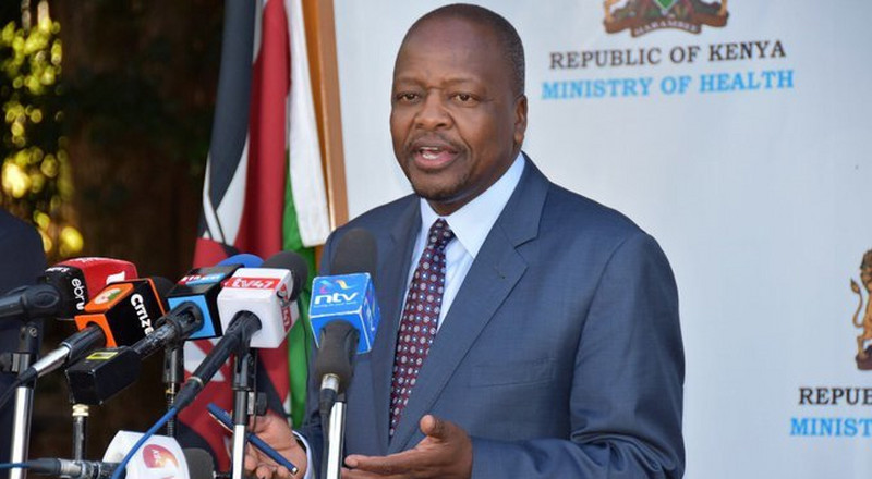 Health CS Mutahi Kagwe addresses MP John Kiarie's claims