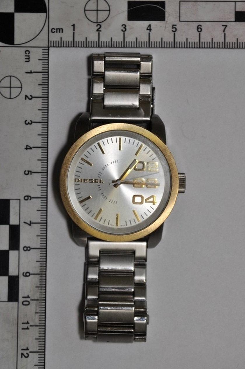 Skradziony zegarek