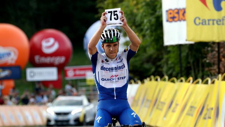 Belg Remco Evenepoel z grupy Deceuninck-Quick Step wygrał 4. etap z Bukovina Resort do Bukowiny Tatrzańskiej