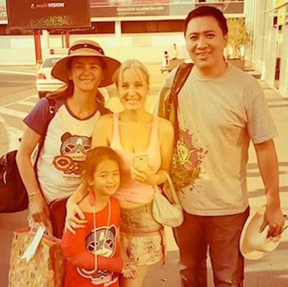 Marija sa Grejs i njenom porodicom