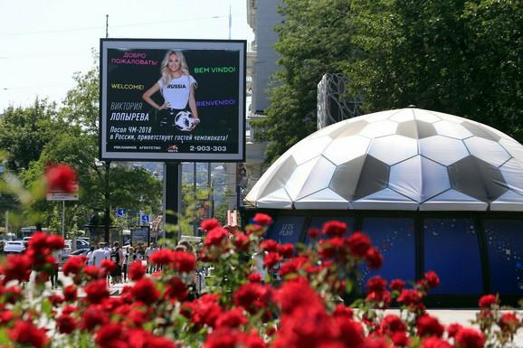 Slika Viktorije  Lopieve dočekuje zvanice iz celog sveta
