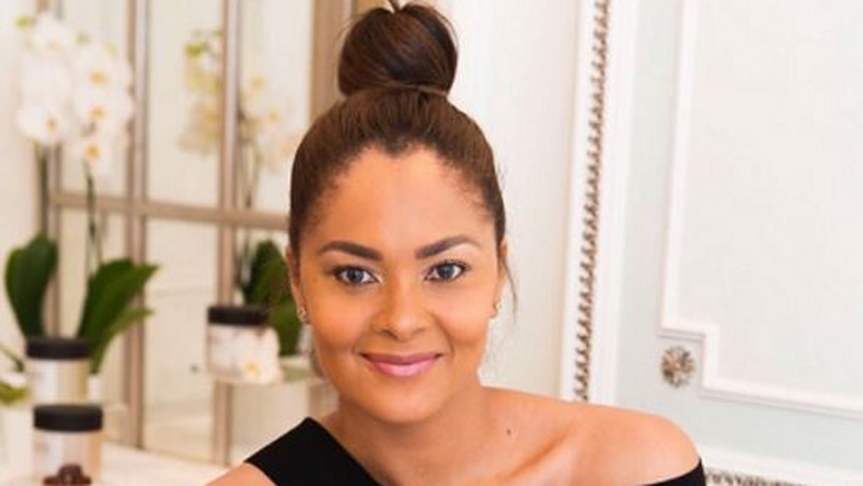 Menaye Donkor donates 2000 sanitary pads to women to cope with ...