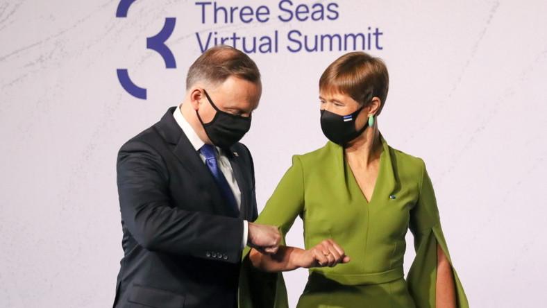 Kersti Kaljulaid i Andrzej Duda