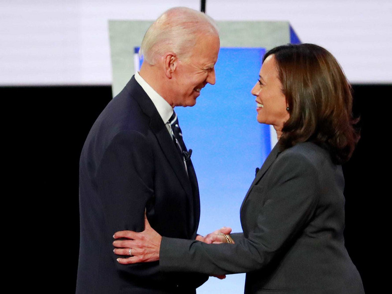 Joe Biden (Left) has settled for Kamala Harris (Right) as his running mate ahead of the US election (AFP)