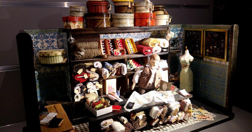 Jeden z eksponatów w Muzeum Domków dla Lalek w Warszawie