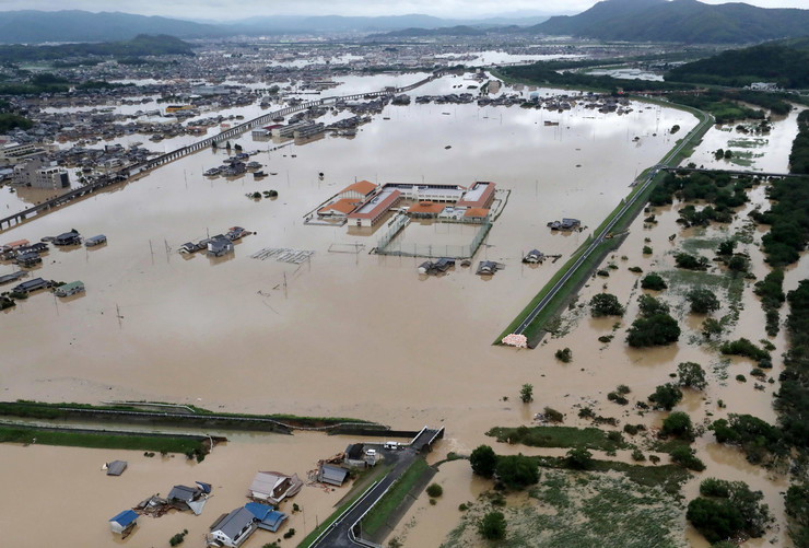 Poplave u Japanu