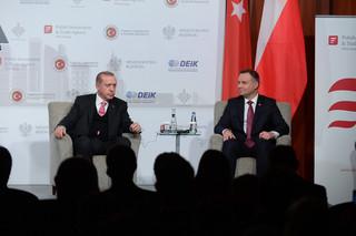 Erdogan do Dudy: Jeżeli nie chcecie nas w UE, powiedzcie nam o tym
