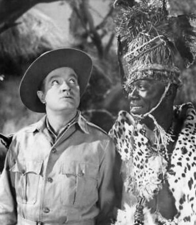 Orlando Martin as an African Chief in 'Call Me Bwana' 1963 [Twitter/@thepaorlando]