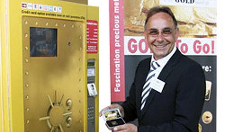 W Niemczech sprzedają złoto w automatach