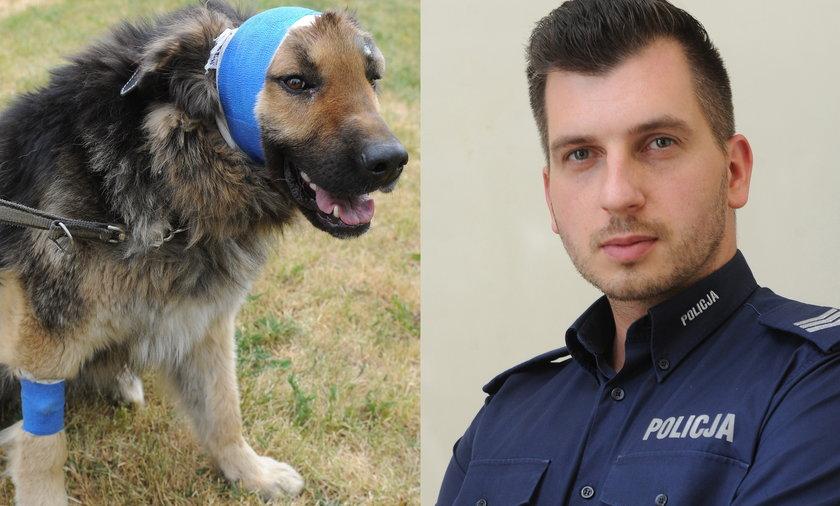 Uratował zakopanego żywcem psa: Zapewnię Baremu dom, jaki sobie wyśnił