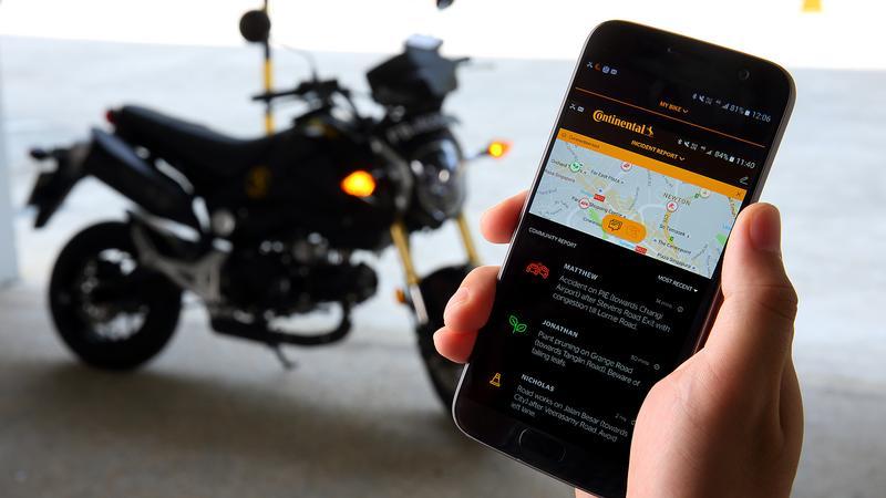 Continental aplikacja dla motocyklistow