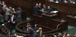 Tajemniczy głos wywołał awanturę w Sejmie