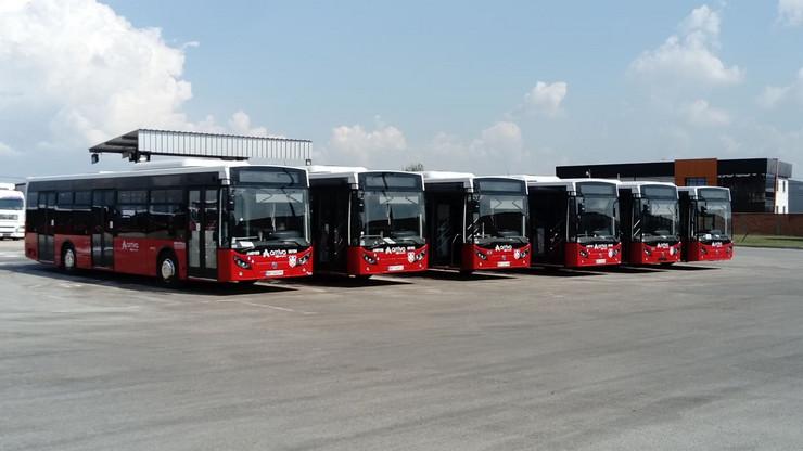 Novi autobusi javni gradski saobraćaj Ariva privatni prevoznici