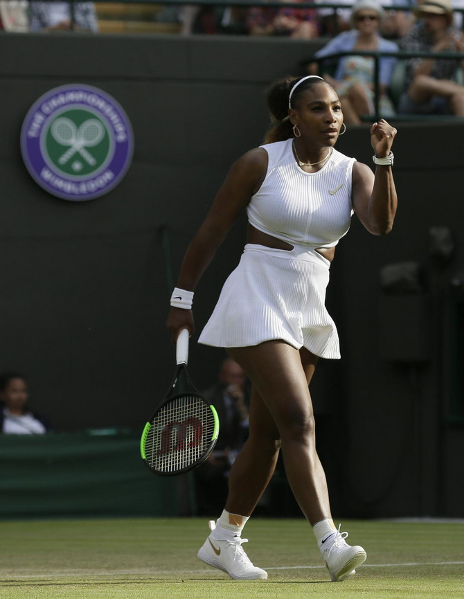 Serena na terenu