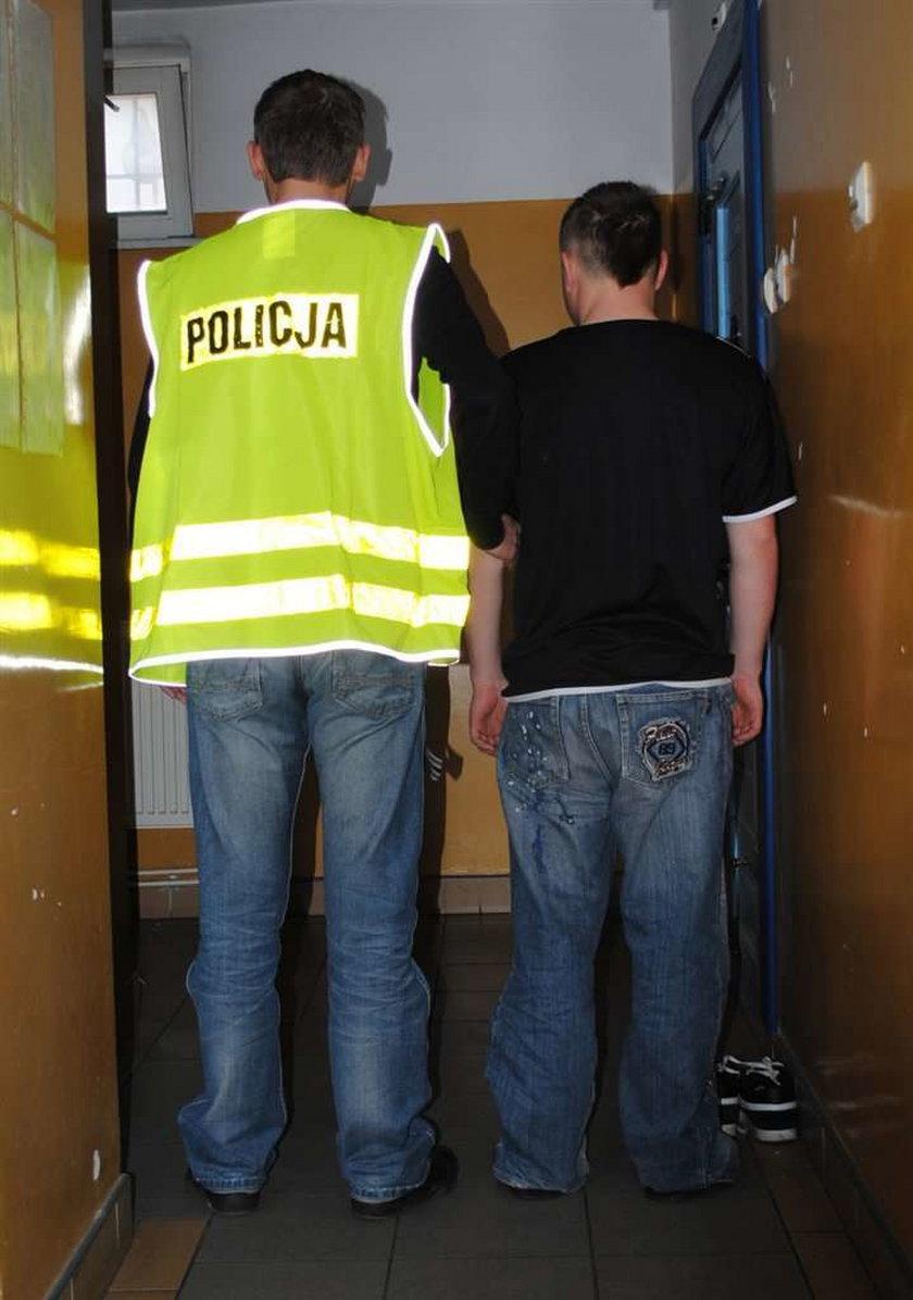 Uczniowie napadli z bronią na sklep