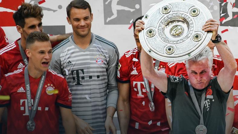 Bayern cieszy się z mistrzostwa