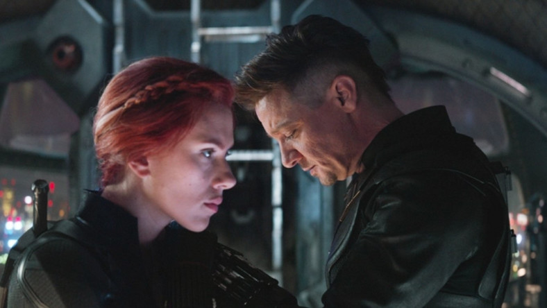Black Widow (Scarlet Johansson) and Hawkeye (Jeremy Renner) refuse to give up on undoing Thanos' finger-snap [Disney/Marvel]