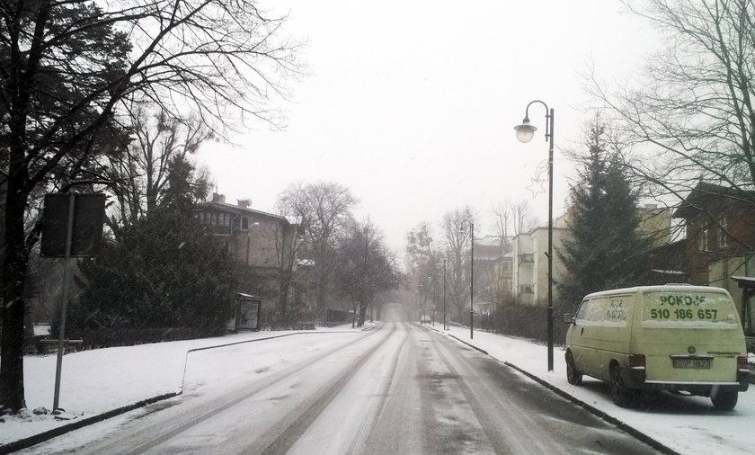 Zima zaatakowała Pomorze