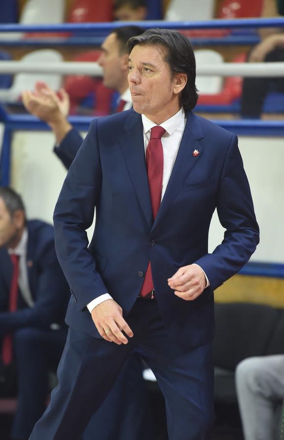 Andrija Gavrilović na meču KK Crvena zvezda - KK Mega Bemaks