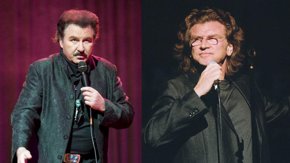 Krzysztof Krawczyk (MW Media, fot. Jarosław Antoniak) i Zbigniew Wodecki