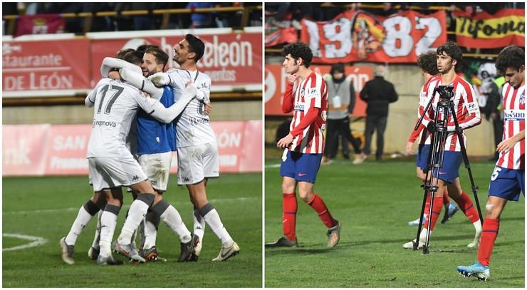FK Atletiko Madrid, FK Kultural Leonesa