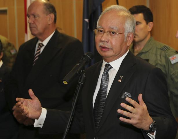 Premier Malezji Najib Razak w Australii. Fot. AP/Rob Griffith//PAP/EPA