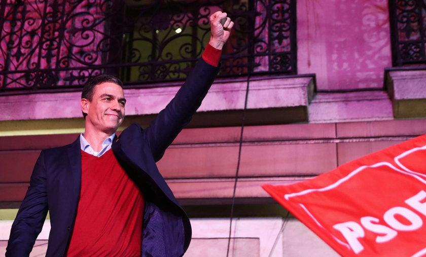 wybory parlamentarne w Hiszpanii