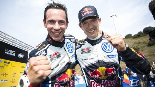 Ogier, Ingrassia i Volkswagen po raz czwarty mistrzami WRC
